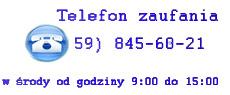 Telefon zaufania 59 845-60-21